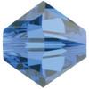 4mm Capri Blue Swarovski® Bicone