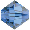 6mm Capri Blue Swarovski® Bicone