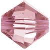 BULK 3mm Light Rose Swarovski® Bicones