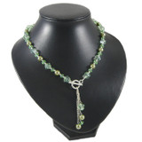 Peppermint Green Drop Necklace: Project Instructions