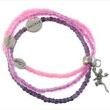 Inspirational Elastic Bracelet: Project Instructions