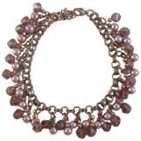 Rose Purple Double Jump Ring Charm Bracelet: Project Instructions