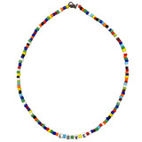 Seed Bead Necklace: Project Instructions