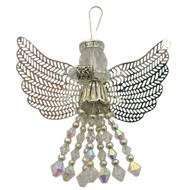Beaded Crystal Angel: Project Instructions