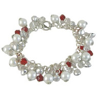Christmas Pearl Bracelet: Project Instructions