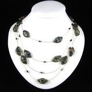 Multi Strand Smoky Quartz Necklace: Project Instructions
