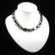 Simple Black/Silver Necklace: Project Instructions