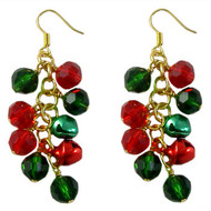 Jingle Bell Christmas Earrings: Project Instructions
