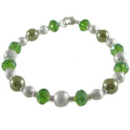 Simple Green Bling Bracelet: Project Instructions
