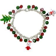 Christmas Glass Charm Bracelet: Project Instructions
