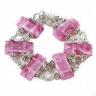 Pink Two Strand Chain Bracelet: Project Instructions