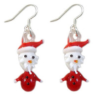 Christmas Santa Earrings: Project Instructions