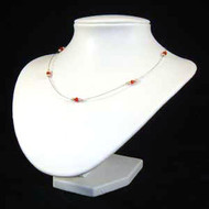 Red Crystal Necklace: Project Instructions