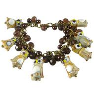 Brown Owl Charm Bracelet: Project Instructions