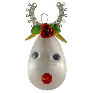 Sparkly Reindeer Crystal Christmas Decoration: Project Instructions