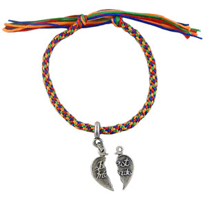 Best Friends Rainbow Kumihimo Bracelet: Project Instructions