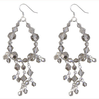 ​Grey Chandelier Earrings: Project Instructions