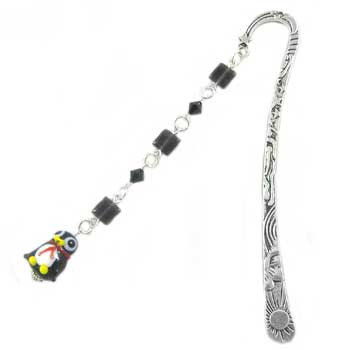 Black & Silver Penguin Bookmark: Project Instructions