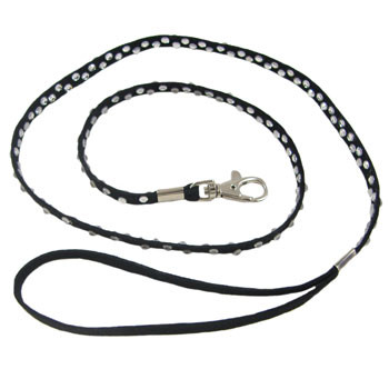Thick Diamante Bling Dog Lead: Project Instructions