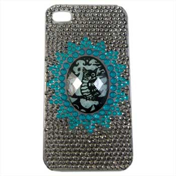 Owl Cameo Diamante Phone Cover: Project Instructions