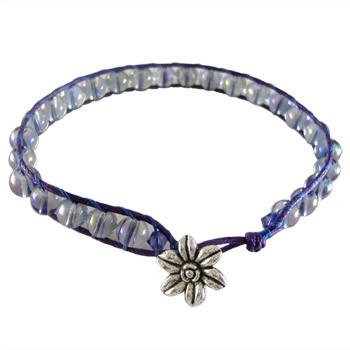 Purple AB Ladder Bracelet: Project Instructions
