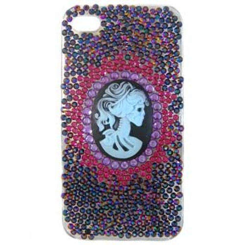 Dark Cameo Diamante Phone Cover: Project Instructions