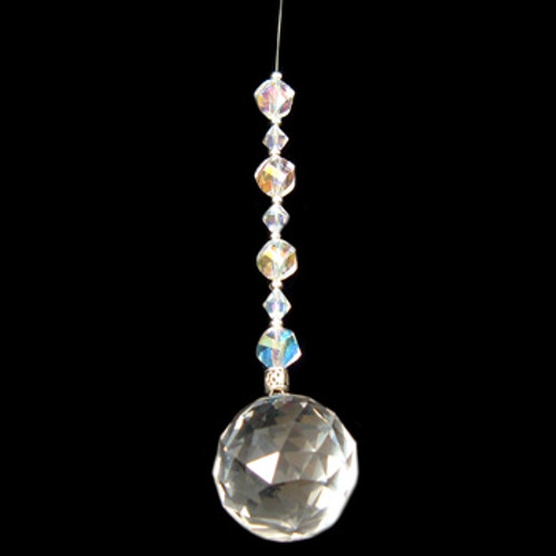 Clear Crystal Suncatcher: Project Instructions
