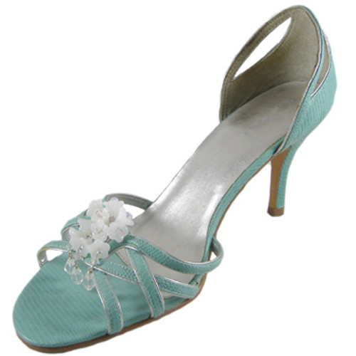 White/Crystal Shoe Bling: Project Instructions