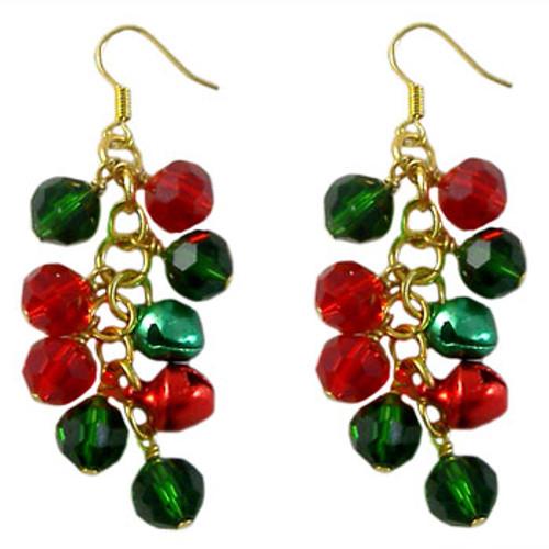 Jingle Bell Christmas Earrings: Project Instructions