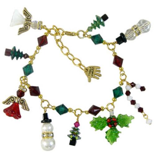 Christmas Charm Bracelet: Project Instructions