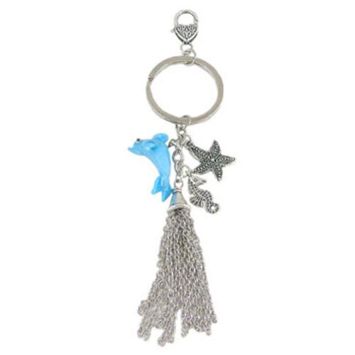 Dolphin Key/Handbag Dangle: Project Instructions