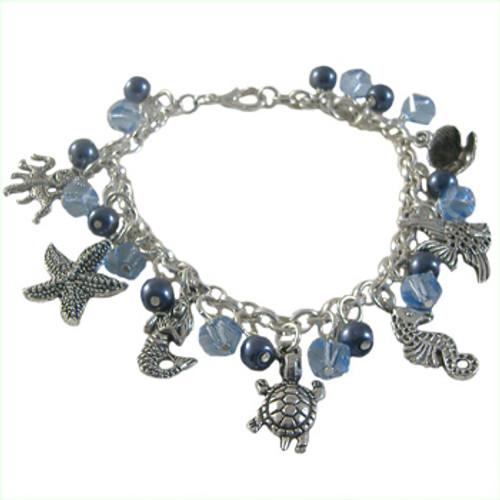 Ocean Inspired Charm Bracelet: Project Instructions