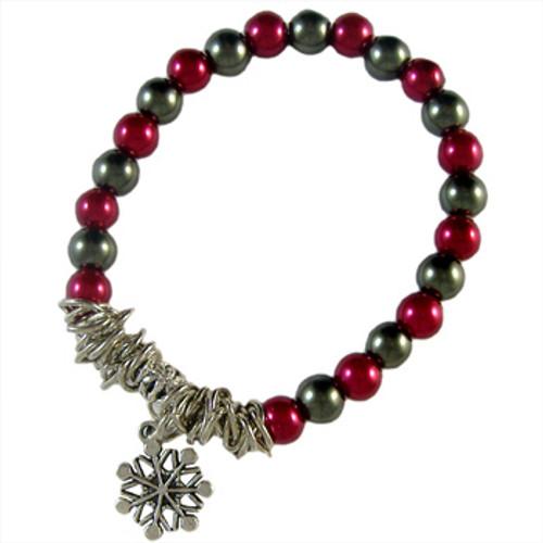 Charmed Christmas Elastic Bracelet: Project Instructions