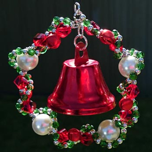 Large Christmas Wreath Ornament: Project Instructions