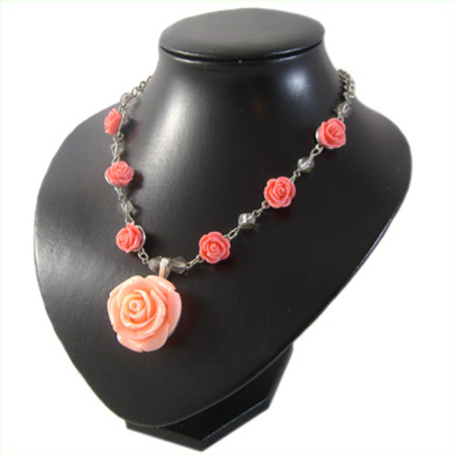 Faux Coral Necklace: Project Instructions