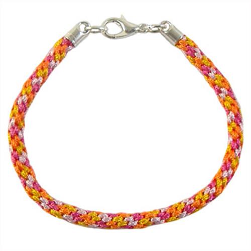 Spring Kumihimo Bracelet: Project Instructions