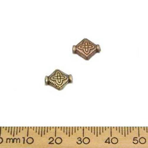 CLEARANCE Diamond Metal Beads