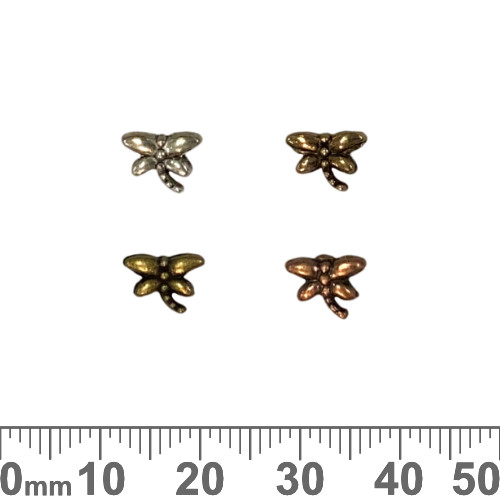 Dragonfly Metal Beads