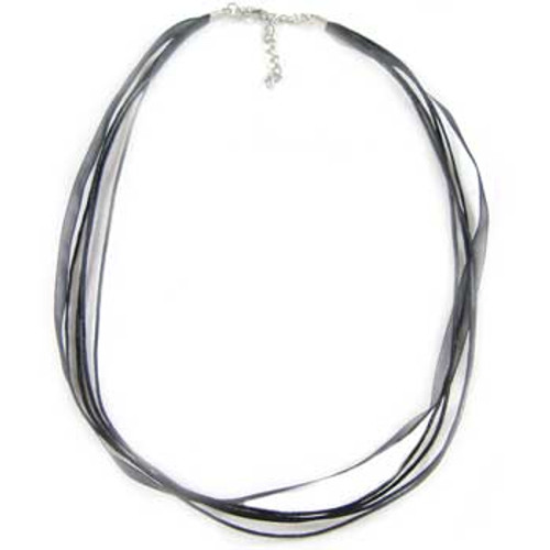 57cm Long Ribbon Necklace