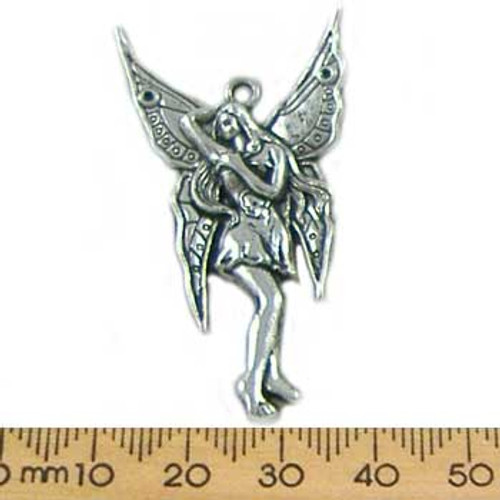 Base Metal Fairy Pendant