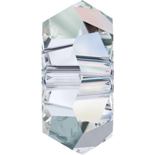 6mm Crystal AB Swarovski® Flat Rondelle Beads