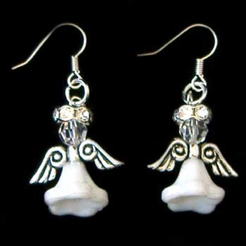 White Angel Earrings Kit