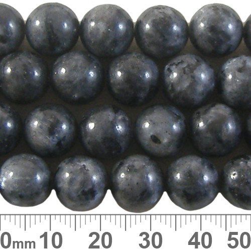 Larvikite 10mm Round Beads