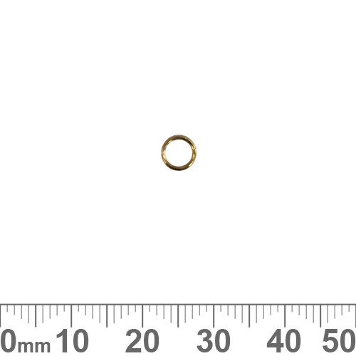 5mm Gold Vermeil Open Jump Ring