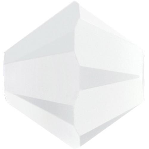 6mm White Alabaster Swarovski® Bicone