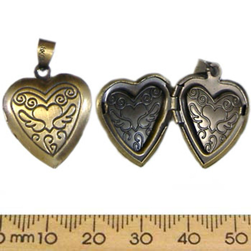 Bronze Heart Locket