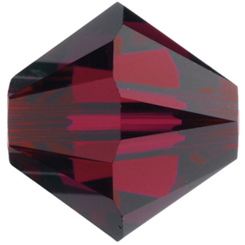 4mm Ruby Swarovski® Bicone
