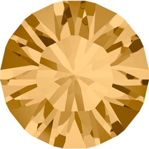 BULK Swarovski® SS39 Xilion Pointed Back Light Colorado Topaz Chatons
