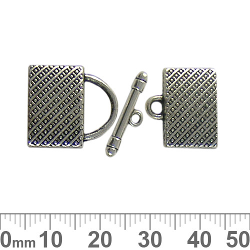18mm End Cap Toggle Clasp Set
