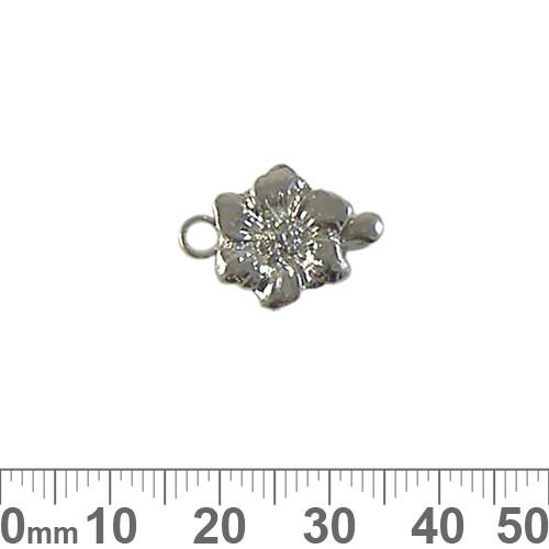 Flower Single Strand Box Clasp